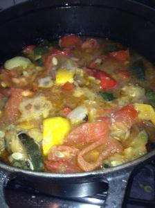 Alles uit de moestuin soep