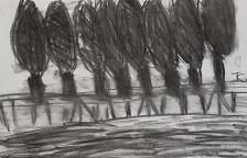 Isa schetst de Aaalsdijk in Buren.